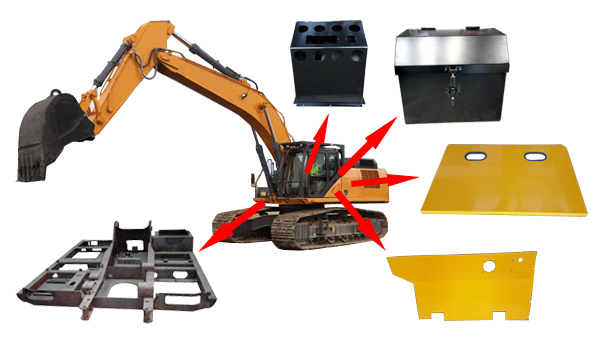 Parts Of Heavy Earth Moving Equipments Manufacturer Exporter India